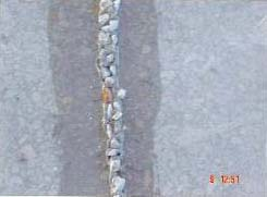 Terrazzoerstellung mitten bei der Arbeit