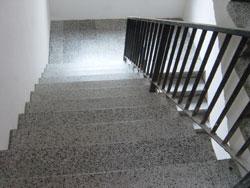 Treppenhaus wurde Saniert und komplettüberholt