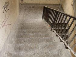 Treppen wurden hier Saniert