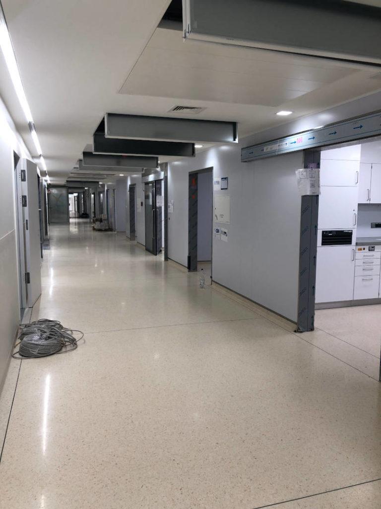 klinik terrazzoboden