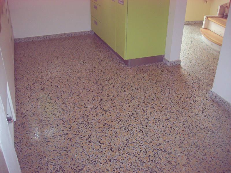Stein Küchenboden