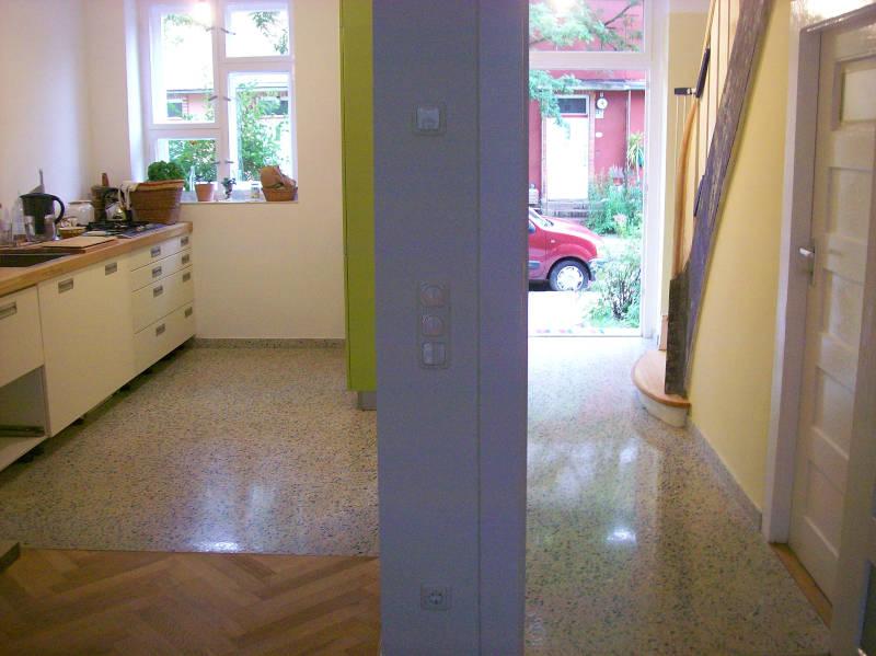 kuechenTerrazzo Neuerstellung in Berlinboden-stein (3)