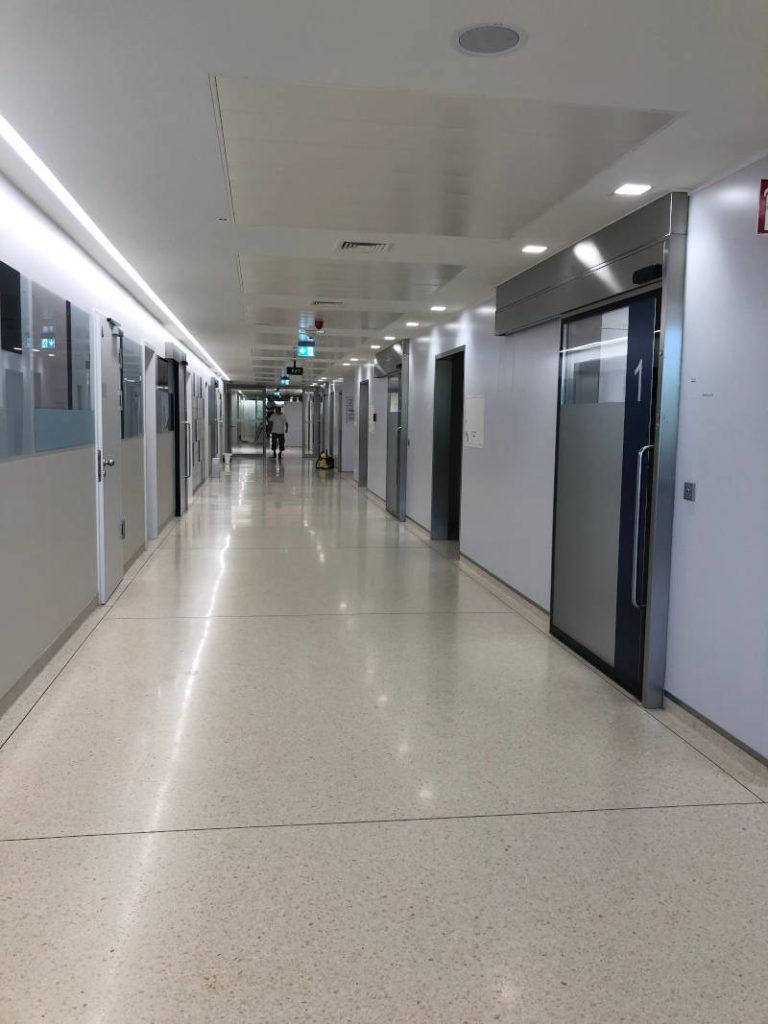 terrazzo korridor
