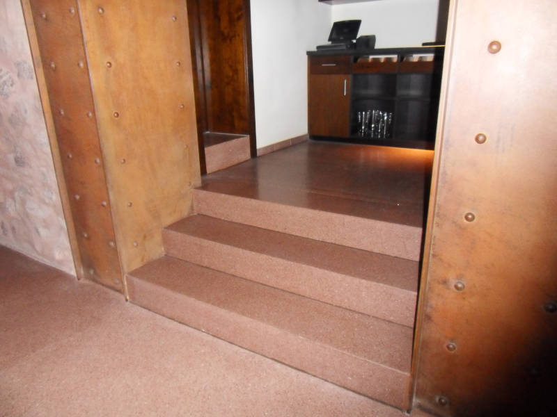 Treppen Terrazzo